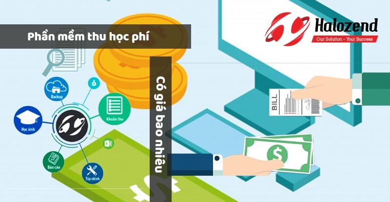 Phần mềm quản lý thu học phí giá bao nhiêu